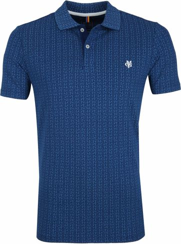 Marc O'Polo Bike Poloshirt Dark Blue