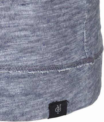 Detail Marc O\'Polo Blau Pullover