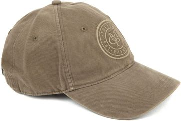 Marc O'Polo Cap Washed Groen