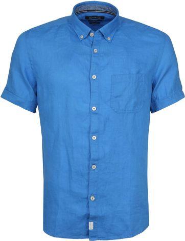 Marc O'Polo Casual Hemd SS Victoria Blue