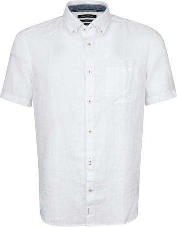 Marc O'Polo Casual Hemd SS White