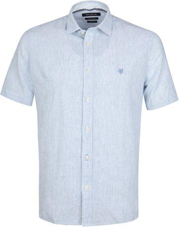 Marc O'Polo Casual Hemd Streifen Blau