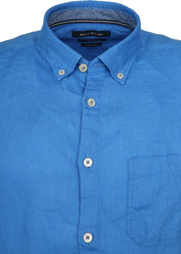 Marc O'Polo Casual Overhemd SS Victoria Blue