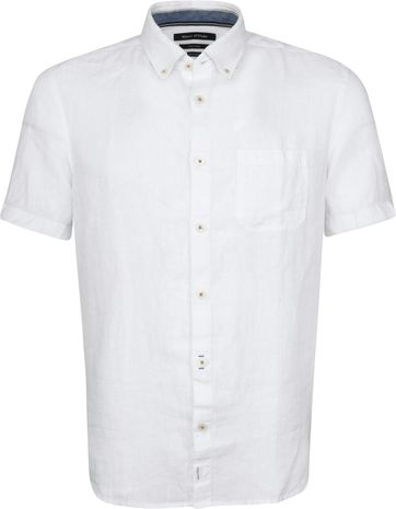 Marc O'Polo Casual Overhemd SS White