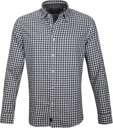 Marc O'Polo Casual Shirt Checks Blue