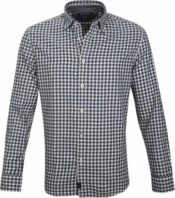 Marc O\'Polo Casual Shirt Checks Blue