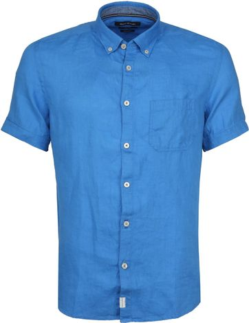 Marc O'Polo Casual Shirt SS Victoria Blue
