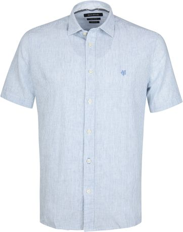 Marc O'Polo Casual Shirt Stripes Blue
