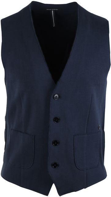 Marc O\'Polo Gilet Vest Donkerblauw