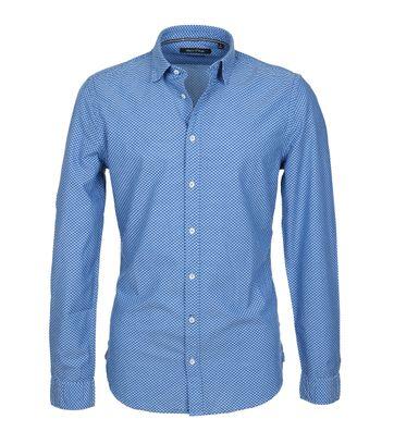 Marc O\'Polo Hemd Dessin Blau