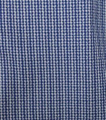 Detail Marc O\'Polo Hemd Dessin Dunkelblau