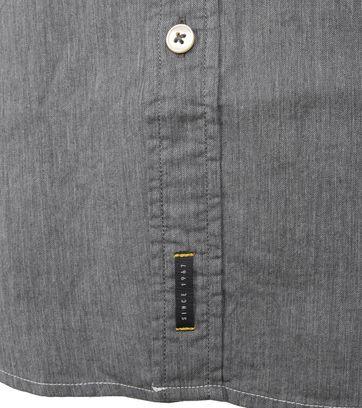 Detail Marc O\'Polo Hemd Grau