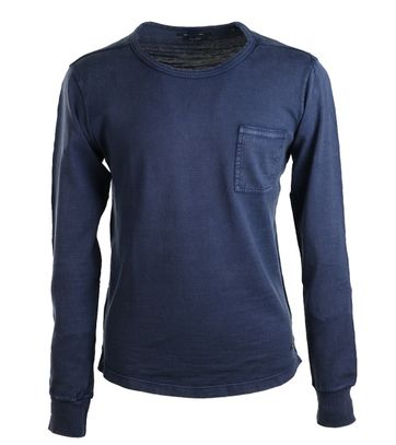 Marc O\'Polo Longsleeve T-shirt Blauw
