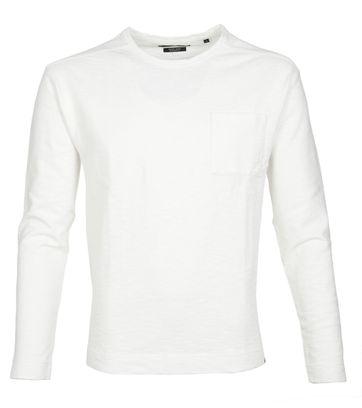 Marc O\'Polo Marc O\'Polo Longsleeve T-shirt Weiß