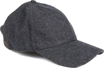Marc O'Polo Melange Cap Dark Grey