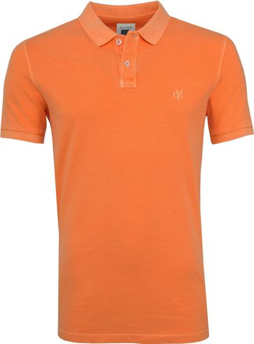 Marc O'Polo Orange Poloshirt