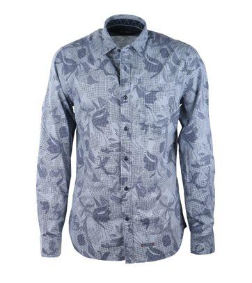 Marc O\'Polo Overhemd Blauwe Print
