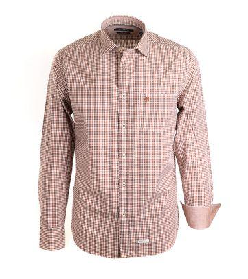 Marc O\'Polo Overhemd Bruin Ruit