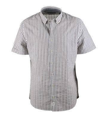 Marc O\'Polo Overhemd Bruin Streep