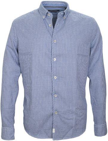 Marc O\'Polo Overhemd Dessin Navy