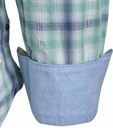 Detail Marc O\'Polo Overhemd Groen Ruit