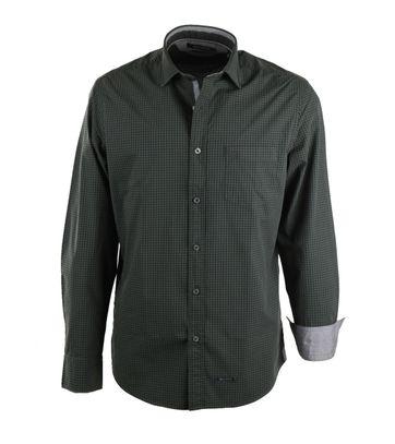 Marc O\'Polo Overhemd Groene Ruitjes