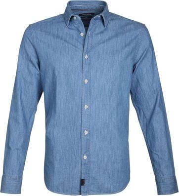 Marc O'Polo Overhemd Indigo Blauw