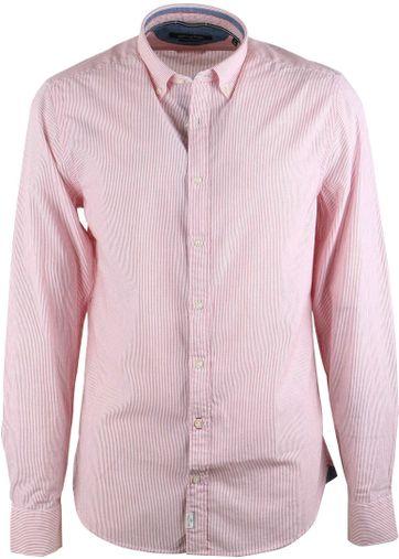 Marc O\'Polo Overhemd Rood Streep
