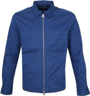 Marc O'Polo Overshirt Blauw