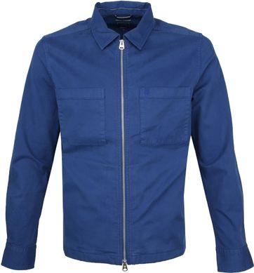 Marc O\'Polo Overshirt Blauw