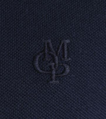 Detail Marc O\'Polo Polo Donkerblauw