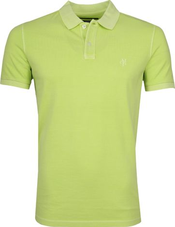 Marc O'Polo Polo Garment Dyed Sharp Groen