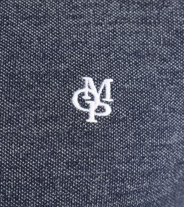 Detail Marc O\'Polo Polo Grijs