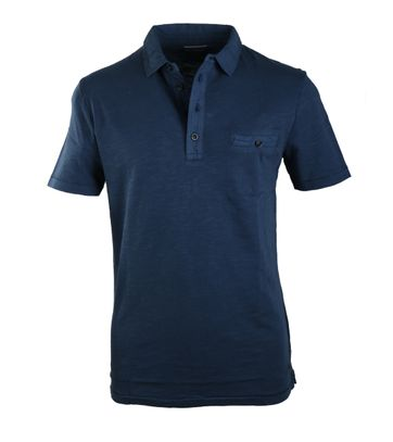 Detail Marc O\'Polo Polo Riviera Donkerblauw