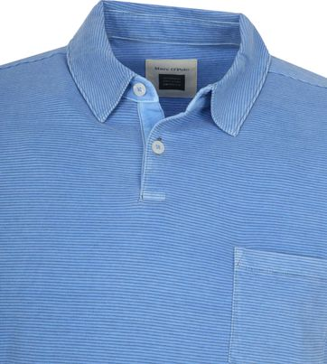 Marc O'Polo Polo shirt Riviera Blau