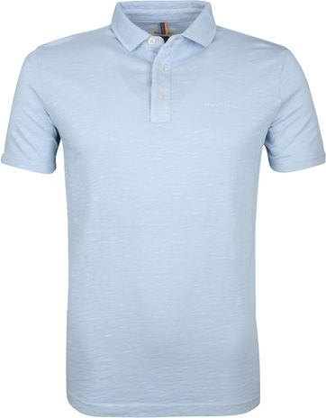 Marc O'Polo Poloshirt Air Hellblau