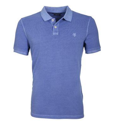 Marc O\'Polo Poloshirt Blauw