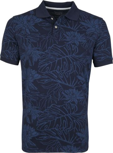 Marc O'Polo Poloshirt Design Navy