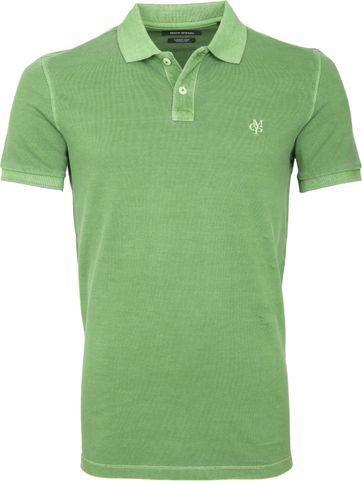 Marc O'Polo Poloshirt Garment Dyed Hellgrün