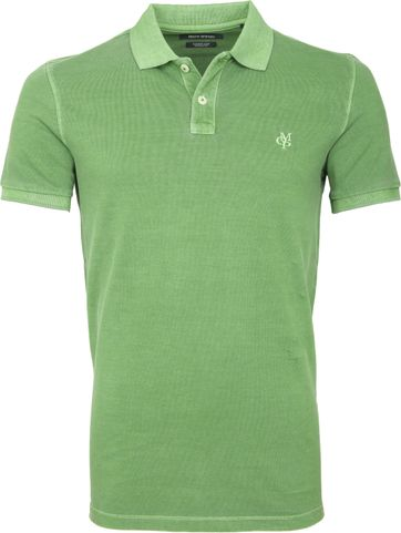 Marc O'Polo Poloshirt Garment Dyed Light Green