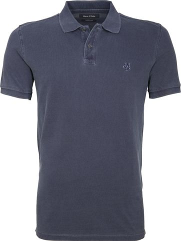 Marc O'Polo Poloshirt Garment Dyed Navy