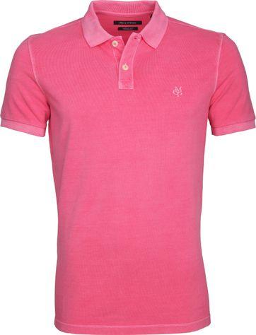 Marc O'Polo Poloshirt Garment Dyed Pink