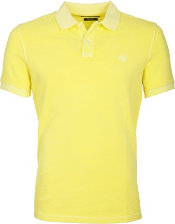 Marc O\'Polo Poloshirt Geel