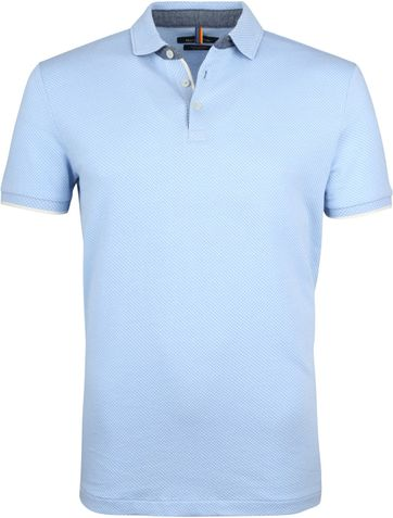 Marc O'Polo Poloshirt Light Blue N81