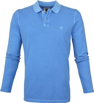 Marc O'Polo Poloshirt LS Blue
