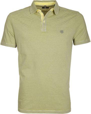Marc O\'Polo Poloshirt Rib Detail Green