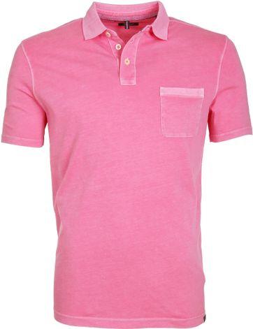 Marc O\'Polo Poloshirt Rib Pink