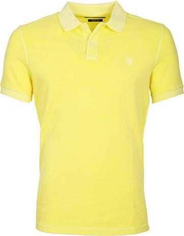 Marc O\'Polo Poloshirt Yellow