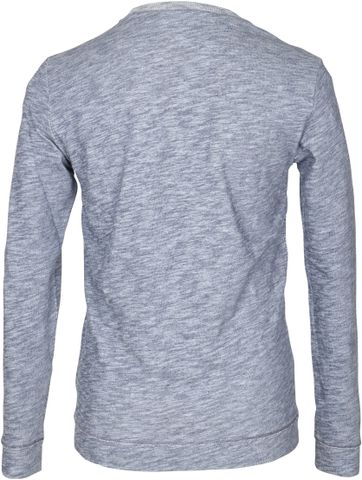 Detail Marc O\'Polo Pullover Blauw
