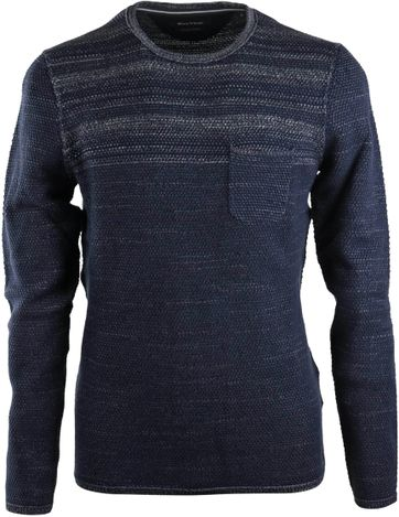 Marc O\'Polo Pullover Blauw Streep